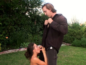 MILF Vanessa Lane Anally Plowed Outdoors