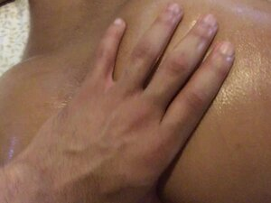 Oily Booty and Legs Massage
