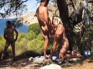 mature orgy outdoor in forrest    by oopscams