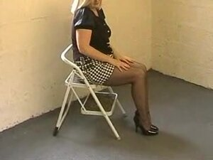 Wife Dressed Like A Slut In Stockings Miniskirt