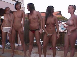 real full nude frat house backyard strip contest