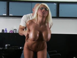 Gorgeous Jacky Joy is getting her awesomely tight