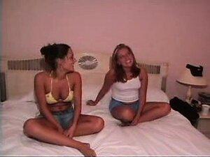 Sarasota roomates 1st-time lesbian experience