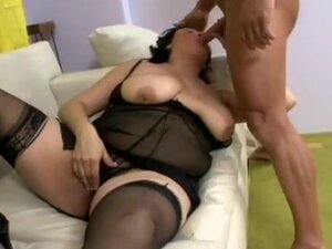 Exotic pornstar in horny fishnet, mature adult