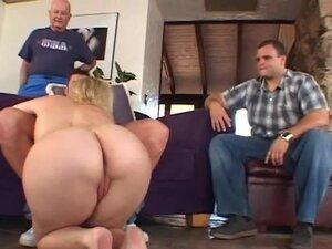 Horny Blonde MILF Swinger Sex