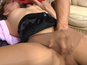 PantyhoseLine Clip: Jessica B and Govard, The game