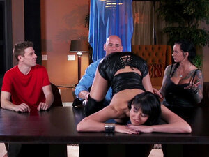 Big-titted babe Eva Karera being impaled by Johnny