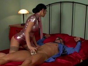 Sexy femdom dominatrix cbt