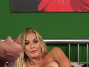 Busty blonde mistress