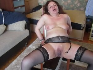 Ugly Russian Arab MILF covered in Spunk