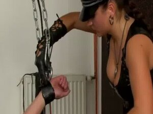 Femdom loser fucked by fetish mistresses