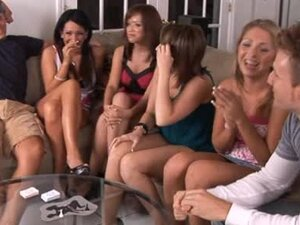 Good looking bitches are having sexual orgy