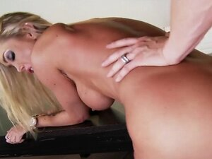 Slutty wet MILF Devon seduces her boss for a quick