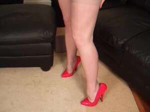 mother I'd like to fuck Lucy UK stocking heel