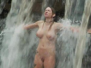 Submissive girls get humiliated in a forest by two