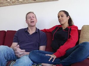 Milf and her husband talk about sex in hd porn