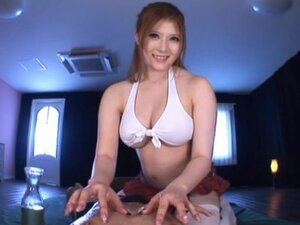 Hikari Matsush favours a dude with titjob and