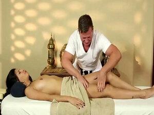 Very tricky massage room of stunning masseur