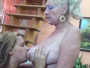 Blonde mature granny loves having part3