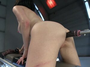 Holes of Action Hot Babe Fucked by Machines Bigger