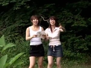 Amazing Japanese whore in Horny Group Sex, Outdoor