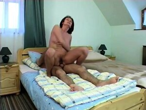 Hot redhead mom can't get enough of a hard dick