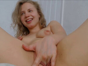 Real Natural Curly Blonde with Big Ass Exotic