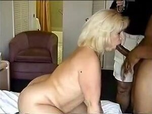 Golden-Haired Hard Screwed by Large Dark Pecker,