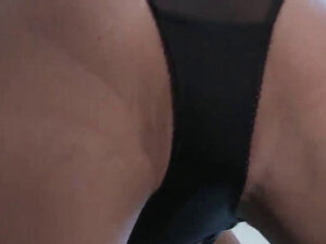 Luscious honey is showing off her opened narrow